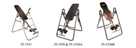 Inversion Table Information