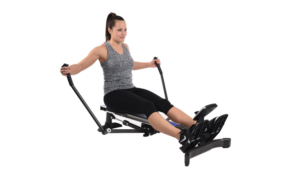 trac glider rowing machine